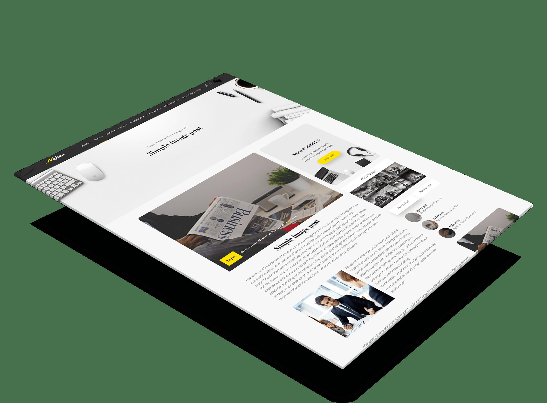 najma – Creative Multi Purpose WordPress Theme